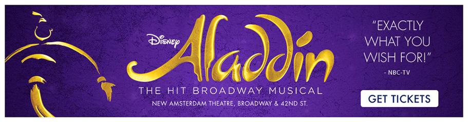 Aladdin Broadway's New Musical Fantasy
